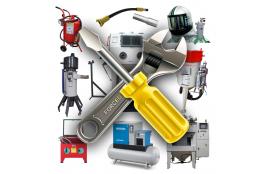 Servis: opravy a úpravy pískovaček