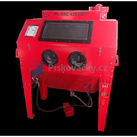 Kabinová pískovačka (box) PK-SBC420-komplet