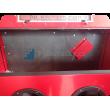 Kabinová pískovačka PK-SBC420-vnitřek se spec. ochranou antiabrazivní PVC deskou