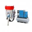Balíček-Soubor zařízení: Mobilní pískovačka+El. šroubový kompresor