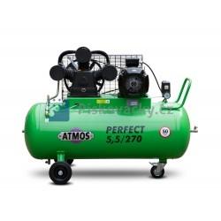 Elektrický, pístový, průmyslový kompresor ATMOS-Perfect 5,5 / 270 M