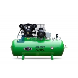 Elektrický, pístový, průmyslový kompresor ATMOS-Perfect 7,5 / 500 (Y-D), MM