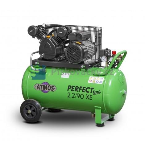 Elektrický, pístový kompresor ATMOS-Perfect line 2,2/90