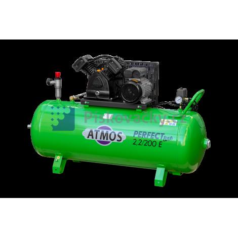 Elektrický, pístový kompresor ATMOS-Perfect line 2,2/200 E