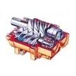 Elektrický šroubový kompresor ATMOS-Albert E.65/10