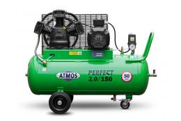 Elektrický, pístový, průmyslový kompresor ATMOS-Perfect 3 / 150 M