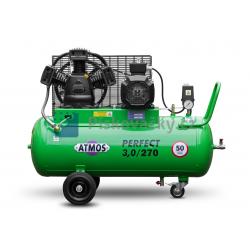 Elektrický, pístový, průmyslový kompresor ATMOS-Perfect 3 / 270 M