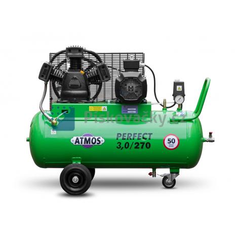Elektrický, pístový kompresor ATMOS-Perfekt 3 / 270