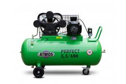 Elektrický, pístový, průmyslový kompresor ATMOS-Perfect 5,5 / 150 M