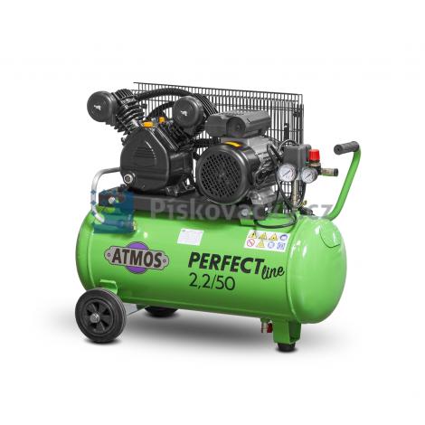 Elektrický, pístový kompresor ATMOS-Perfect line 2,2/50