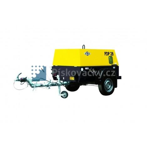 Dieselový kompresor ATMOS-CZ, PDK33, CE (P. B. oj)