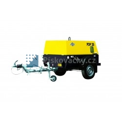 Dieselový kompresor ATMOS-CZ, PDK33, CE (V. B. oj)