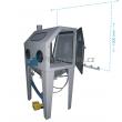 Pískovací kabina (box) ITB90G (Glass)