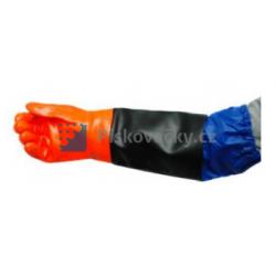Ochranné rukavice pro pískování/tryskání GRT 2/5 (pár)