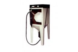 Pískovací jedno-bubnové tryskací kabiny ITB1 (injektorové) pro hromadné tryskání drobných dílů