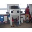 Pískovací kabina (box) PK-ITB/TTB120 kombinovaná/sdružená (injektor+tlak)