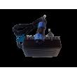 Ochranná helma tryskání GRANIT s rovným hledím a s integrovaným accu LED osvětlením - Nabíjecí adaptér/zdroj
