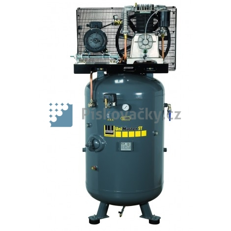 Elektrický, pístový-průmyslový kompresor Schneider v anti-hlukové skříňi