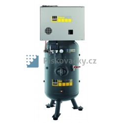 Elektrický, pístový-průmyslový kompresor Schneider, 10bar, s agregátem v anti-hlukové skříni