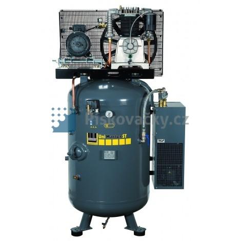 Elektrický, pístový-průmyslový kompresor Schneider, 10 bar, s integrovanou sušičkou