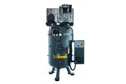 Elektrický, pístový, průmyslový kompresor Schneider, 10bar + rozběh hvězda/trojúhelník + integrovaná kondenzační sušička
