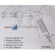 Pistole tryskání pro pískovací boxy typu SBC