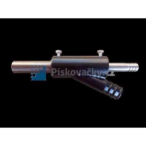 Pistole/držák tryska pískovacích kabin/boxů