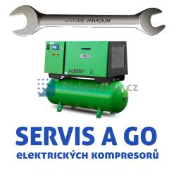 Servis a generální opravy elektrických, šroubových kompresorů všech značek