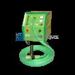 Elektrometalizační jednotky šopování