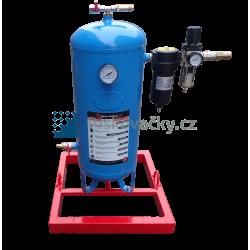 Separátor s mikrofiltrem a regulátorem tlaku