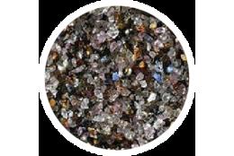 Korund hnědý, AL2O3, (box 1kg)