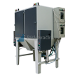 Pískovací jedno-bubnové kombinované kabiny ITB/TTB1 (injektor+tlak) pro hromadné tryskání drobných dílů