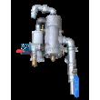 Elementy (ventil, píst) dálkového ovládání. tryskací jednotky