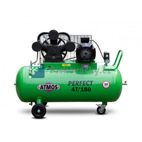 Elektrický, pístový, průmyslový kompresor ATMOS-Perfect 4 / 150 M