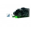 Elektrický, pístový, průmyslový kompresor ATMOS-Perfect 7,5 / 500  M