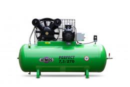 Elektrický, pístový, průmyslový kompresor ATMOS-Perfect 7,5 /270  M