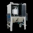 Pískovací jedno-bubnové kabiny ITB1 (injektorové) pro hromadné tryskání drobných dílů