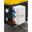 Dieselový vlečný kompresor ATMOS-CZ, PDP28 - elektro skříň se zásuvkami integrované, 7,5kW elektrocentrály dieselového kompresor