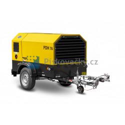 Dieselový kompresor ATMOS-CZ, PDH76 + D, CE (P. B. oj)