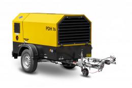 Dieselový kompresor ATMOS-CZ, PDH76 + D, CE (V. B. oj)
