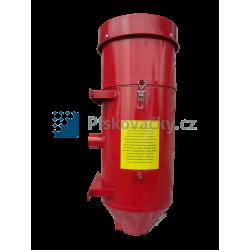 Cyklón/odsavač k pískovacím kabinám pro odsávání a rekuperaci abraziv
