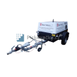 Dieselový, vlečný kompresor vhodný k pískování