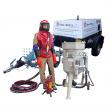 Mobilní pískovačka s přísl. + Dieselový kompresor / Soubor zařízení