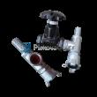 """Směšovač abraziva SA 1 1/4 (5/4)"""" + potrubí (armatura)"""