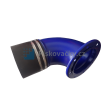 Nasávací potrubí/koleno s přírubou pro odsavače POC6, 9