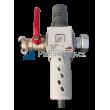Regulátor tlaku (0-16bar) s odkalovačem a s přípojnými armaturami
